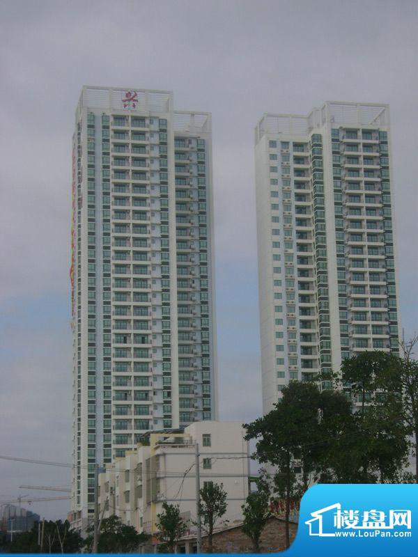 兴盛花园项目沿上海路实景图(2011-12-