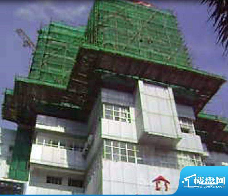 启东商务公寓工程进度外景图20110817