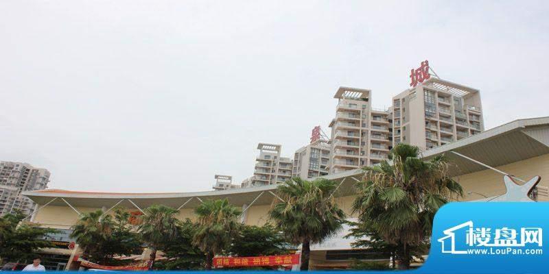 银滩万泉城项目实景图(2012-06-14)