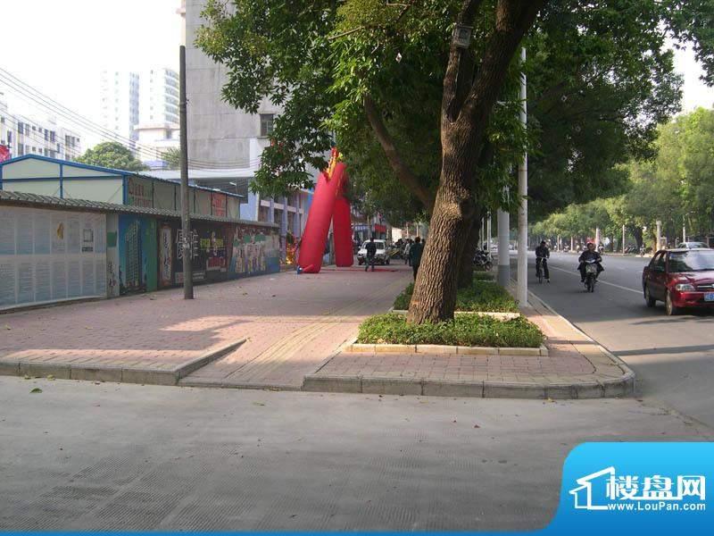 德丰大厦小区外景实景2011-1-1