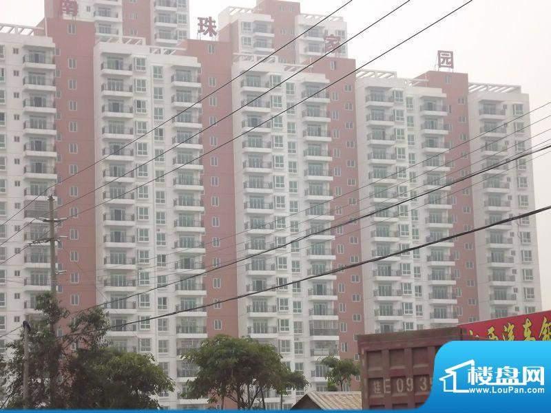 南珠家园项目实景图20120409