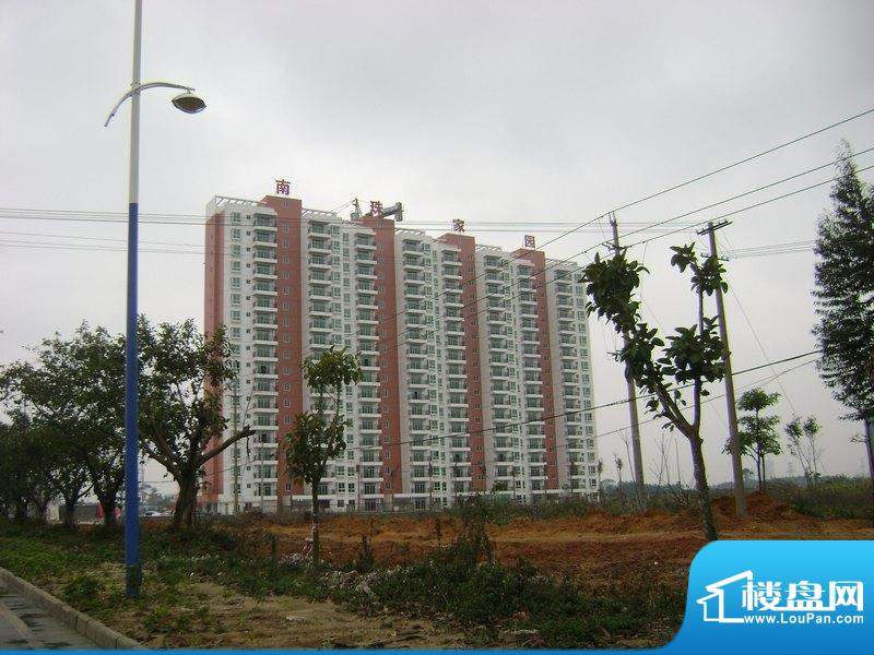 南珠家园项目楼盘外景图(2011-02-19)
