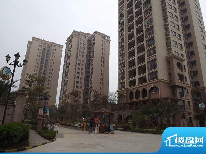 迪亚小城项目入口实景图20120405