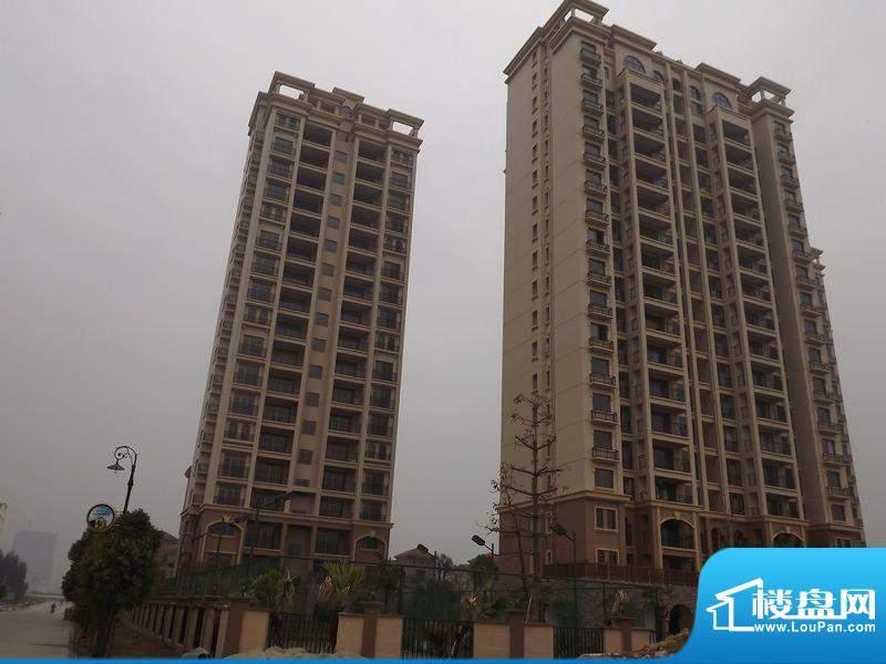 迪亚小城项目高层外景图20120305