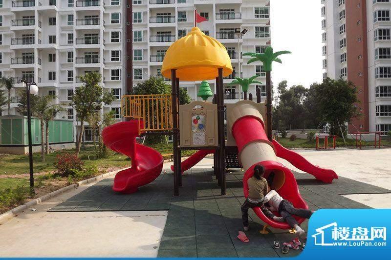 九州家园小区儿童游乐场实景20111030