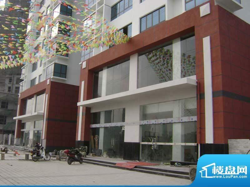 哈尔滨广场小区售楼部外景20110118