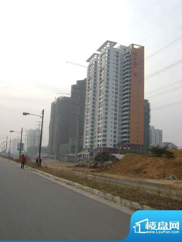 哈尔滨广场小区远景20110118