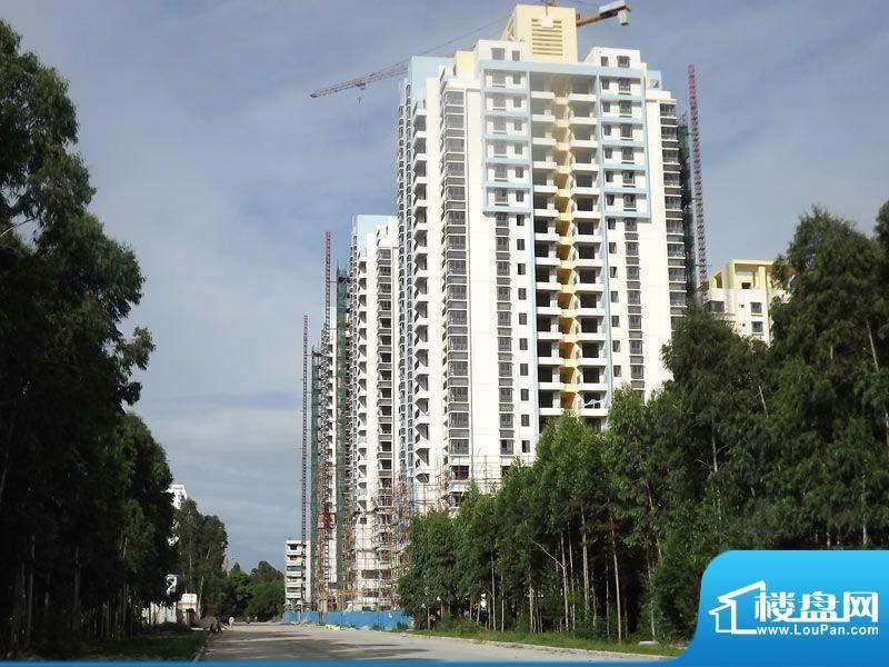 白金瀚宫项目施工全景20110802
