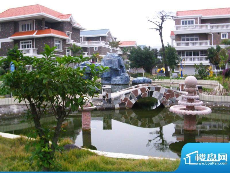 白金瀚宫小区水景20110112