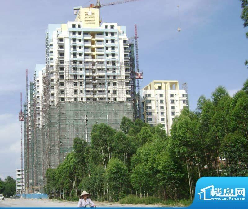 白金瀚宫20110613项目施工进度:拆除外
