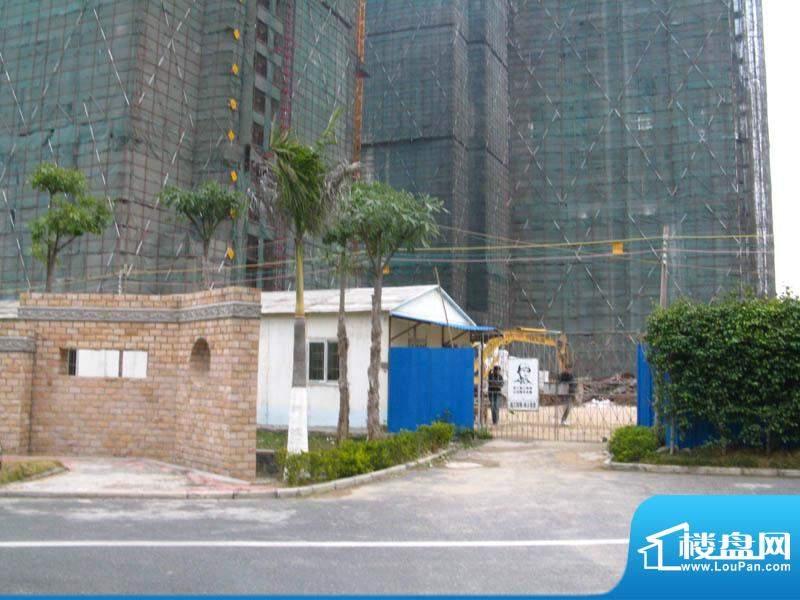白金瀚宫公寓外景20110112