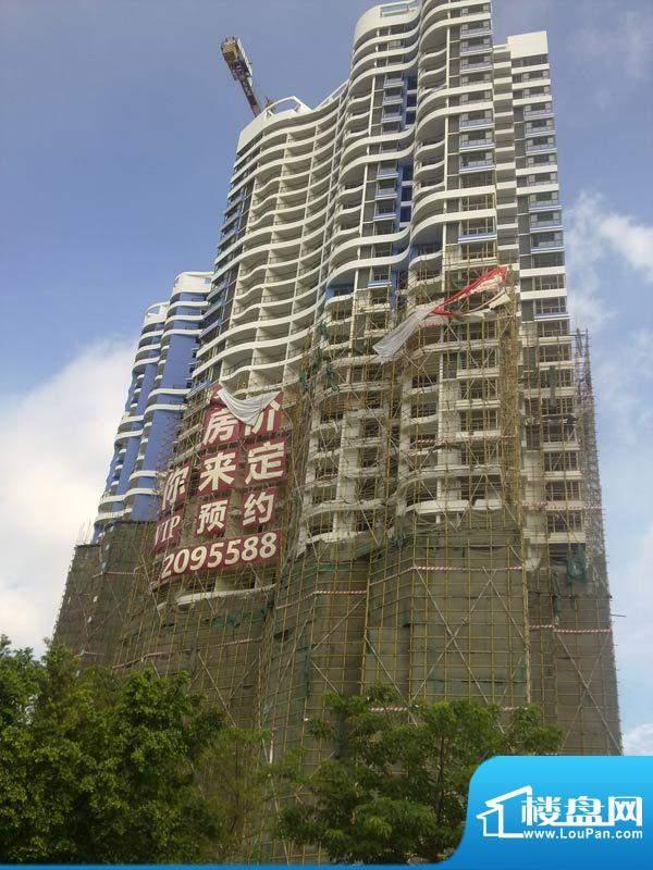 千佰渡20110616项目施工进度:拆除外架
