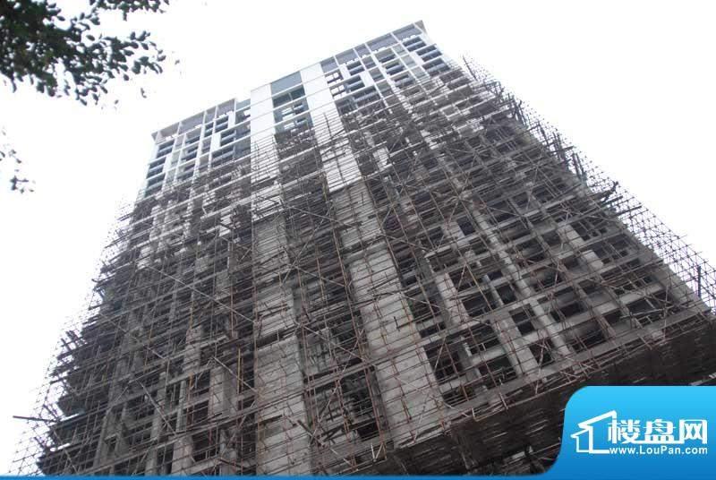 君临·西海岸小区1#楼正面实景20110219