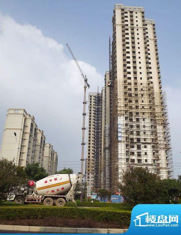 锦绣湾花园项目施工全景20110928