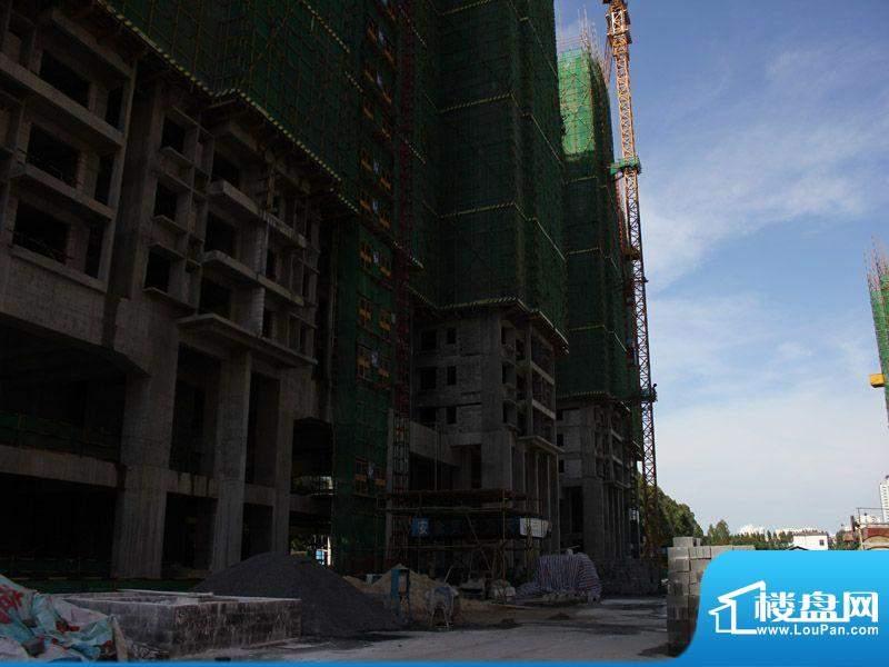 北海国际新城工程实景图20120822