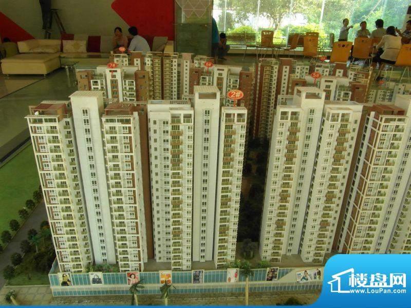 北海国际新城项目2#沙盘实景20120803