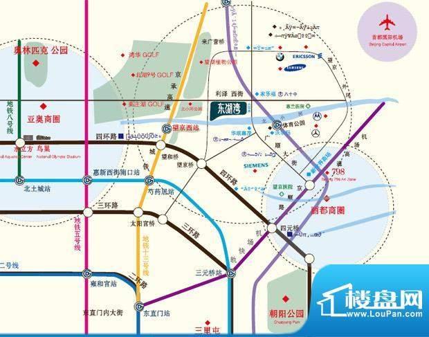 东湖湾交通图