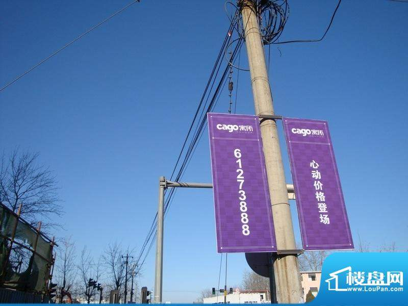 cago寓所广告实景图2010.12.06