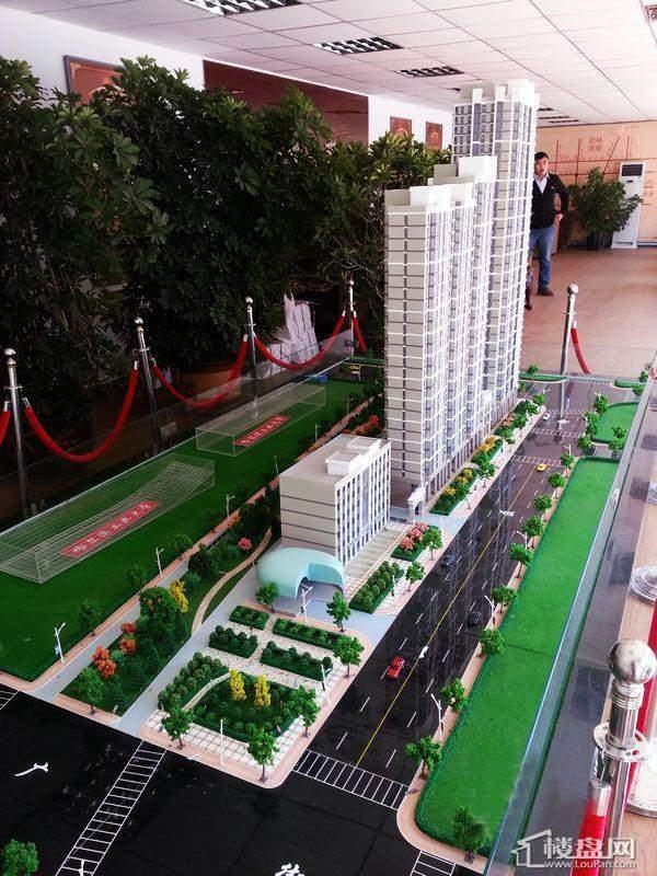 江城之珠项目沙盘实景(2012-10-9)