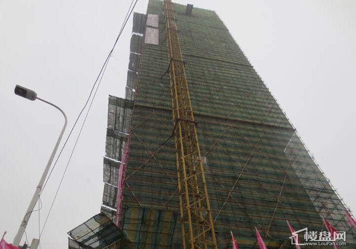 江城之珠在建项目实景图(2012-11-13)