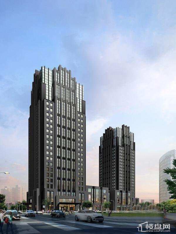 汇智广场项目鸟瞰图