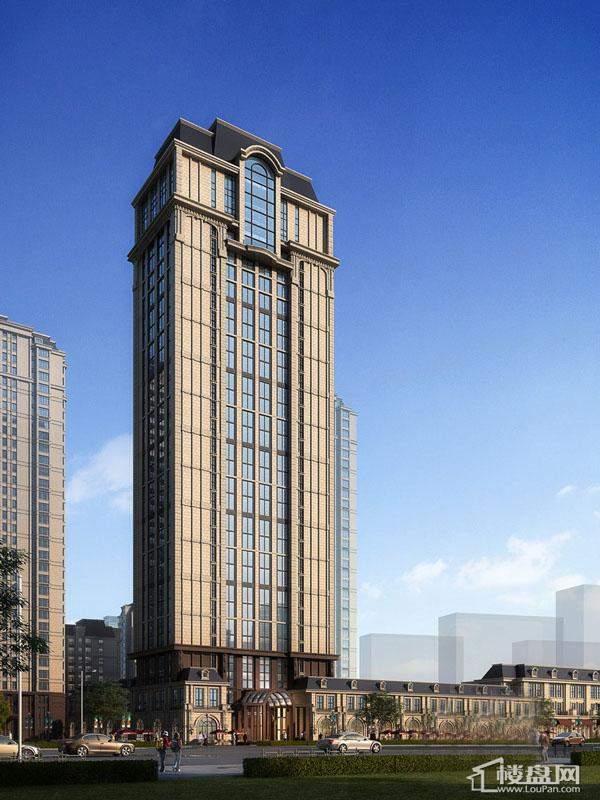 巴黎第五区项目楼体效果图