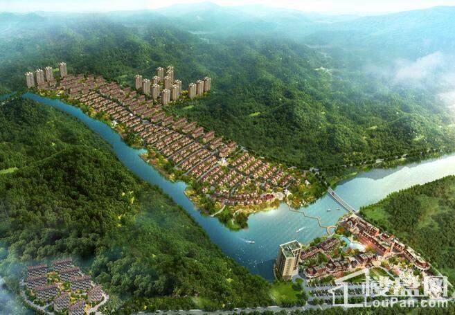 碧桂园·金山岭长城河谷 效果图
