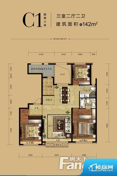 整个空间方正,拐角少,后期利用难度低,提升整个空间的利用率。卫生间如没有窗子,可加管道通风,但是相对来说卫生间有窗户是最好的情况,利于排湿,不会使湿气进到室内。客厅、卧室、卫生间和厨房等主要功能间尺寸以及比例合适,方便采光、通风,后期居住方便。