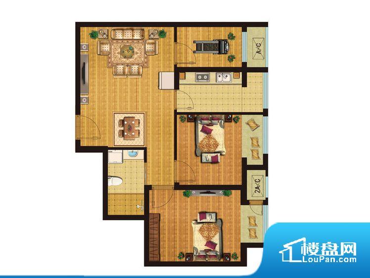 各个空间都很方正,方便后期家具的摆放。不通风,南方会非常潮湿,特别是在雨季。而北方干燥会加重干燥的情况。无对外窗户,通风采光较差,卫生间湿气会加重,不利于身体健康。厨房门朝向客厅,做饭时油烟对客厅影响较大。各个功能区间面积大小都比较合理,后期使用起来比较方便,居住舒适度高。