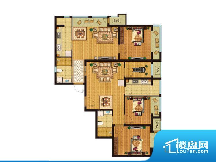 各个空间方正,后期空间利用率高,居住舒适度较高。整个空间有充足的采光,这一点对于后期居住,尤其重要。厨卫等重要的使用较为频繁的空间布局合理,方便使用,并且能够保证整个空间的空气质量。客厅、卧室、卫生间和厨房等主要功能间尺寸以及比例合适,方便采光、通风,后期居住方便。