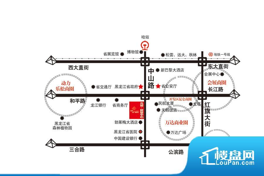 交通区位图