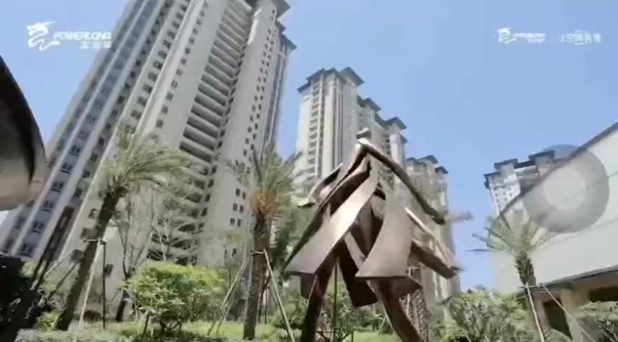 环球100宝龙城小区实景