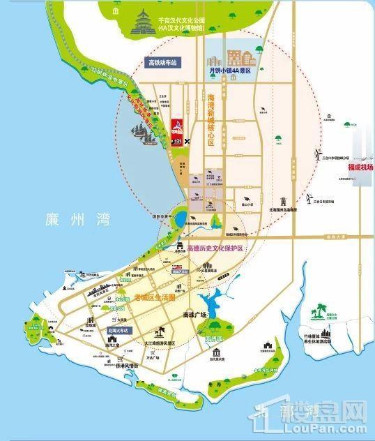 中金海湾壹号位置图