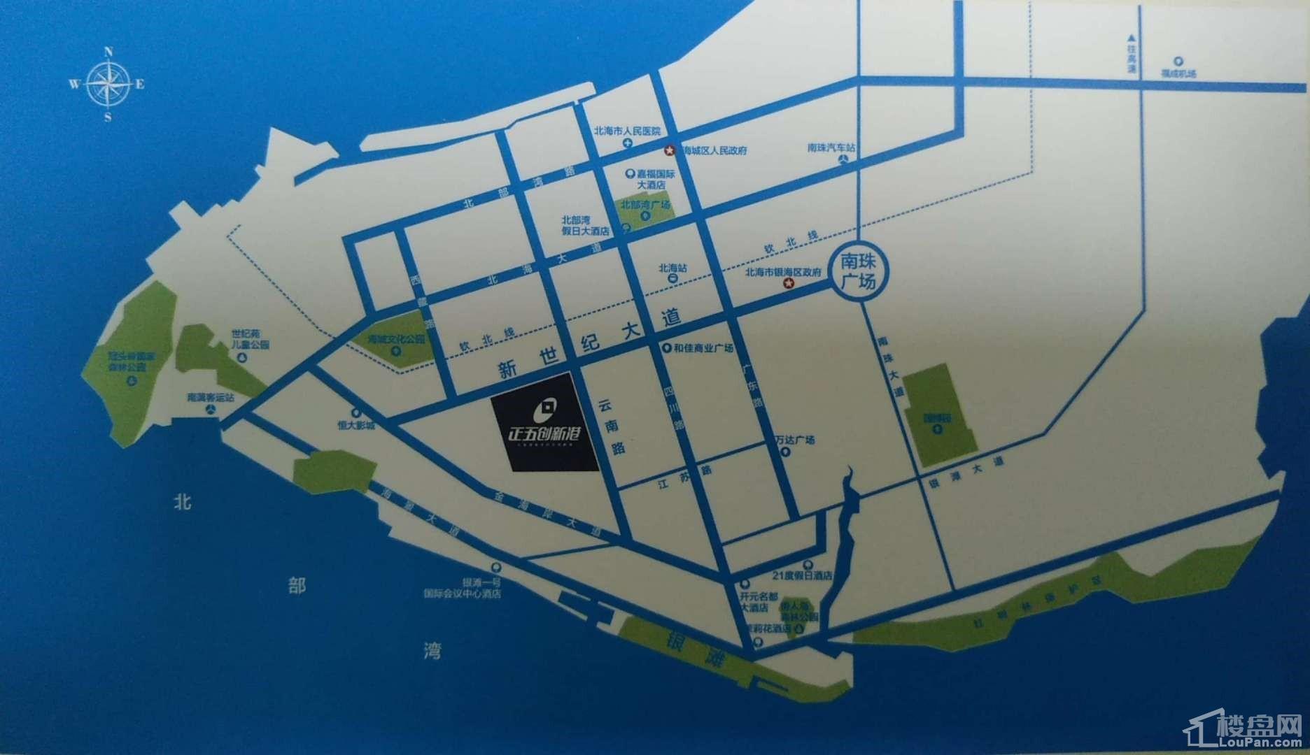 正五创新港位置图