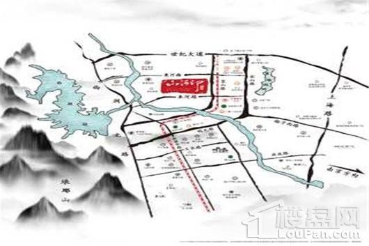 金鹏·山河印交通图