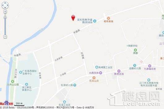 保利·和悦华锦交通图
