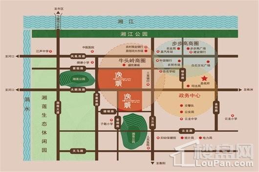 万通逸城位置图