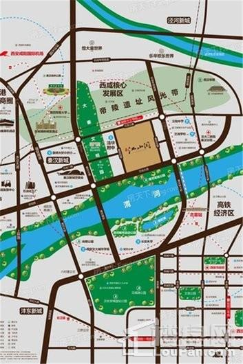 旭辉·江山阅交通图