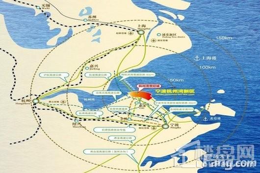 杭州湾世纪城位置图