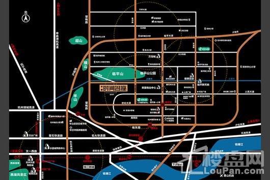 时间名座交通图