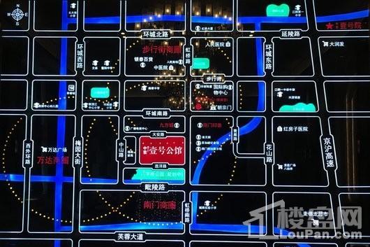 中梁·壹号公馆(华隆广场)交通图