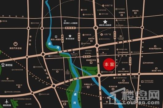 碧桂园桃李东方交通图