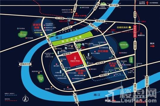 碧桂园·潭州府位置图
