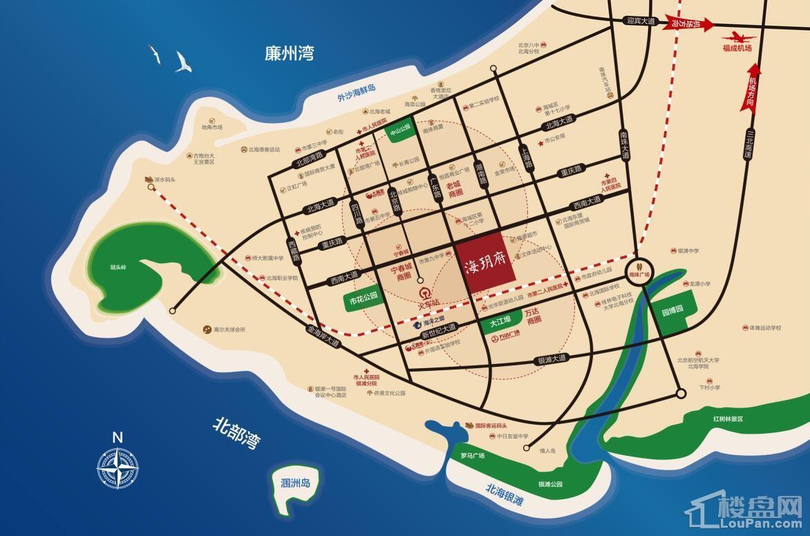 东投海玥府位置图