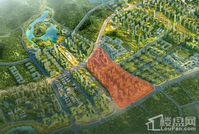 富士康科技小镇 效果图