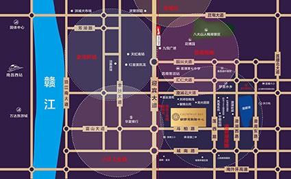铜锣湾购物中心位置图