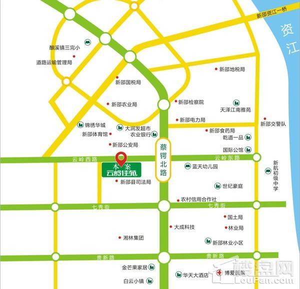 云岭佳苑位置图