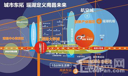 绿地未来城位置图