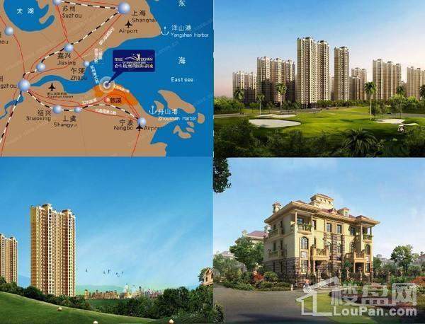 宁波合生杭州湾国际新城效果图