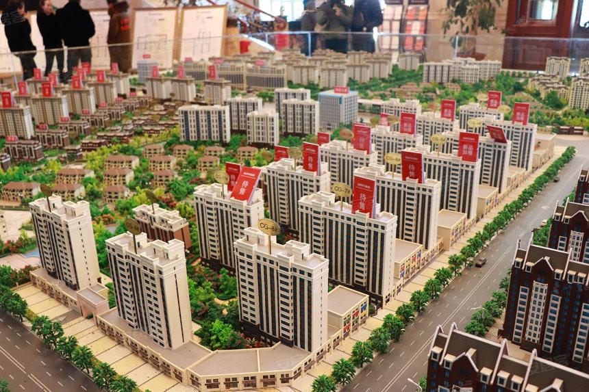 哈西骏赫城实景图